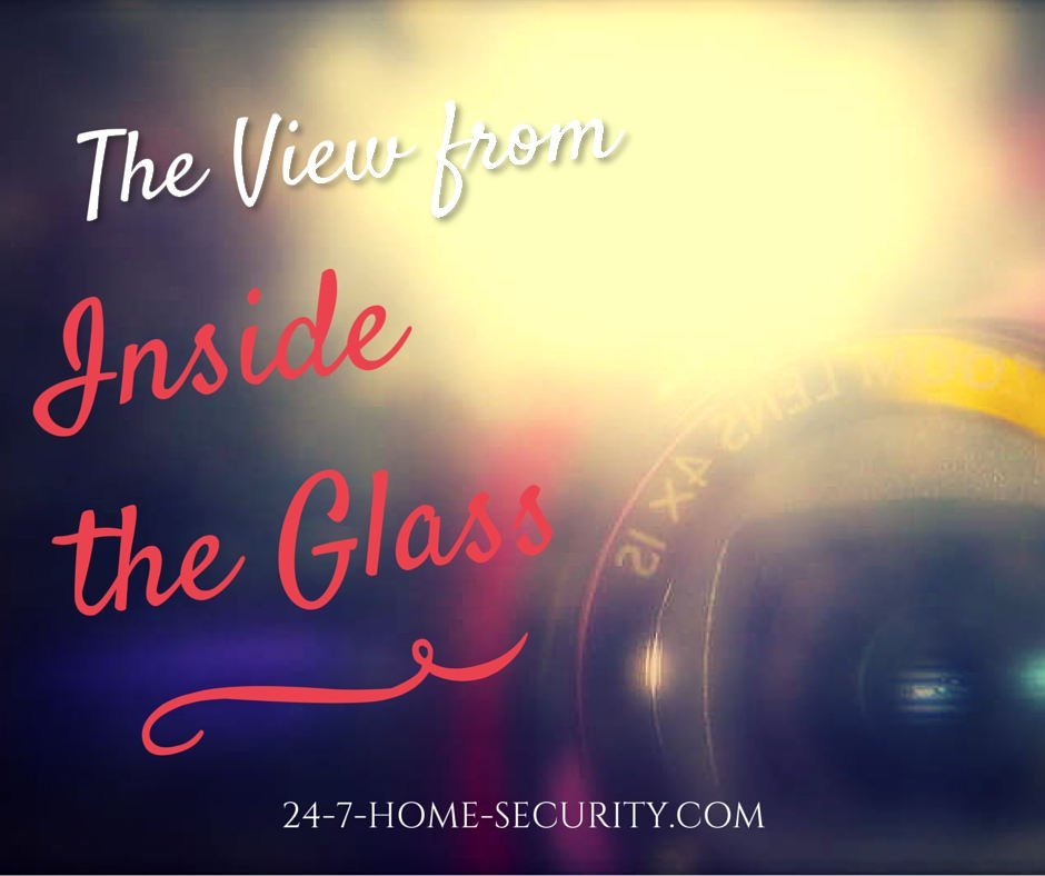 Glare from not using outdoor home security cameras