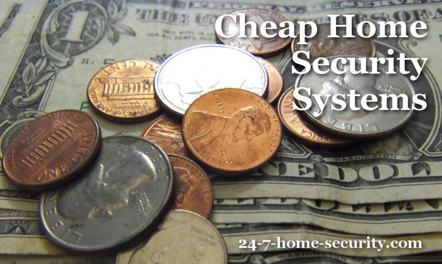 cheap home security systems
