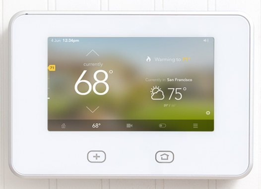 Vivint home security system panel