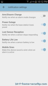 Scout Notification Settings Android