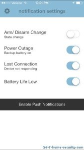 Scout Notification Settings iOS