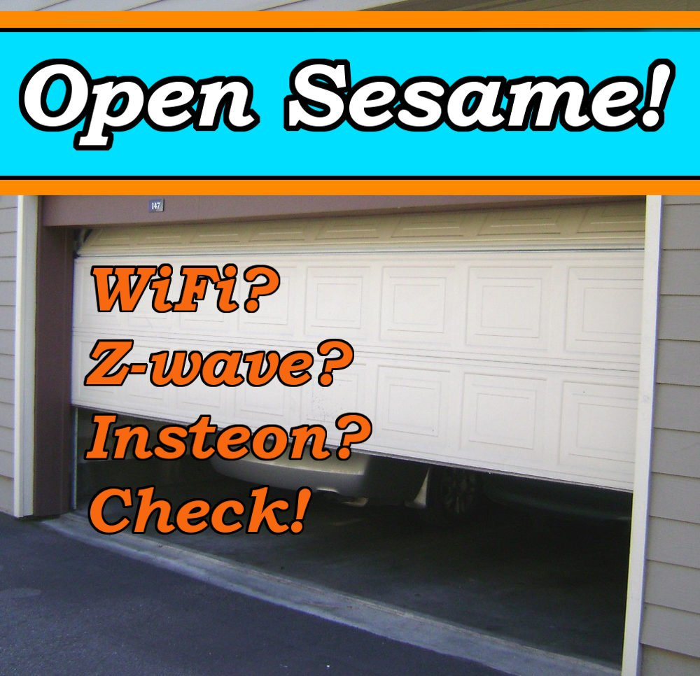 z wave garage door 2How to Make a Smart Garage Door Opener that Works with Any