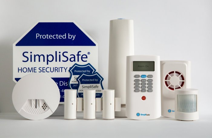 Simplisafe home security product family