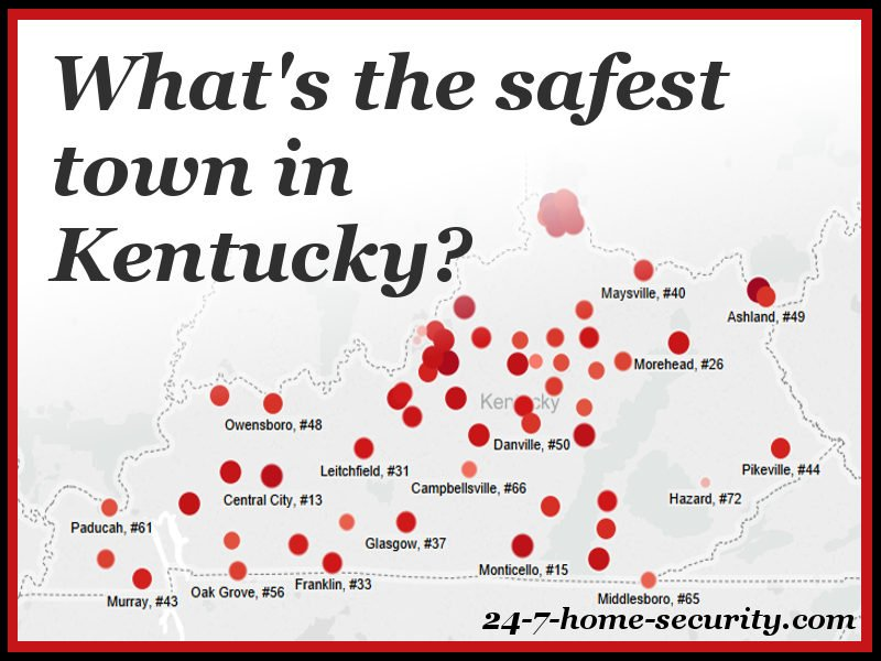 Safest Cities in Kentucky