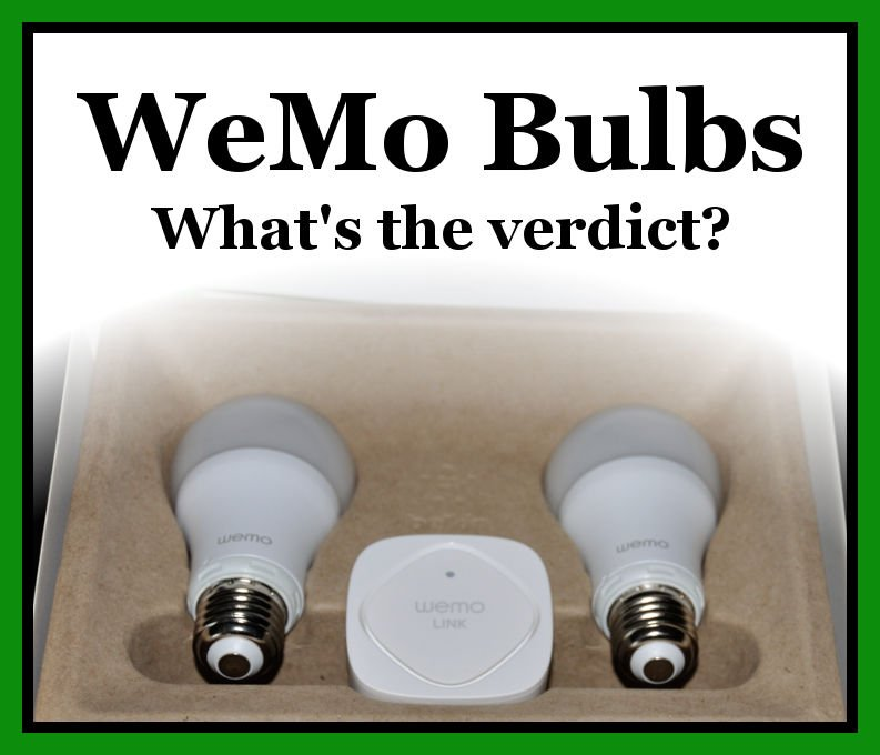 Wemo Light Bulb Review