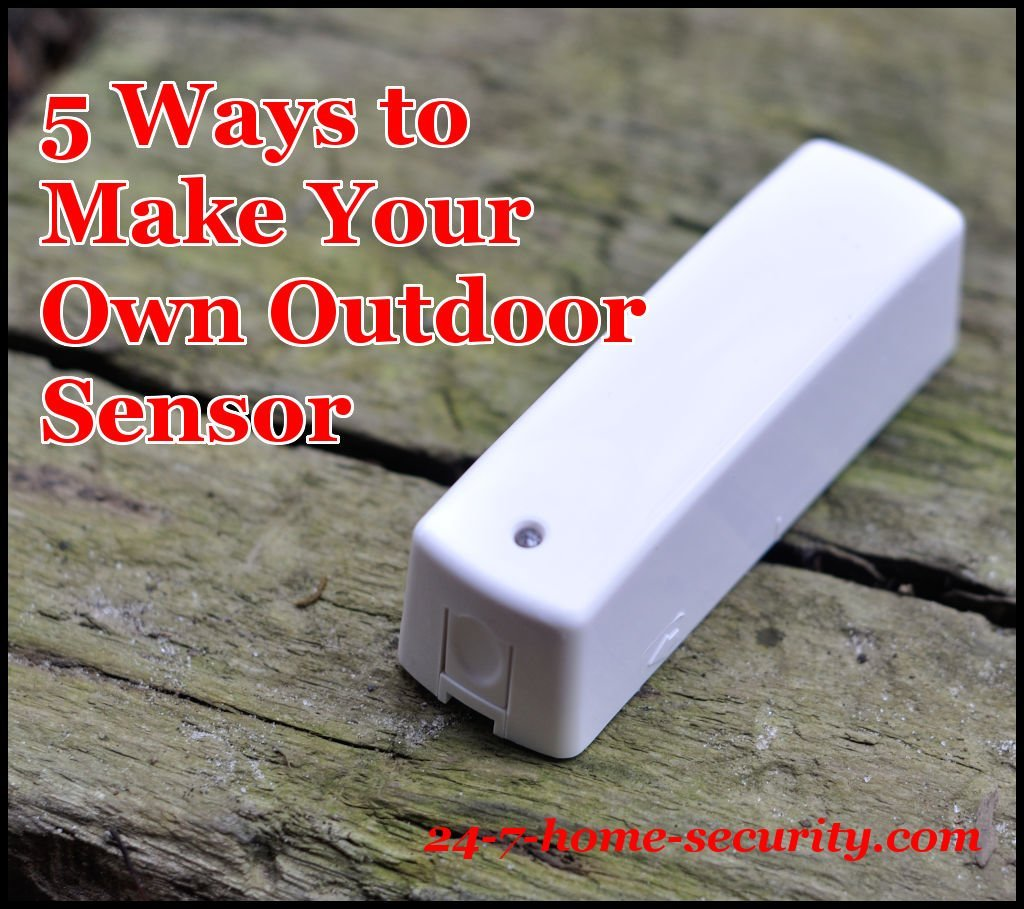 how to make your own z wave outdoor door sensor 24 7. Black Bedroom Furniture Sets. Home Design Ideas