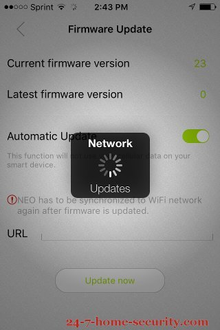 Ankuoo Neo WiFi Switch Firmware Update