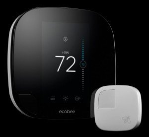 ecobee smart thermostat, best smart home gadget for saving money
