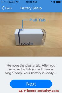 Roost Battery Setup 1