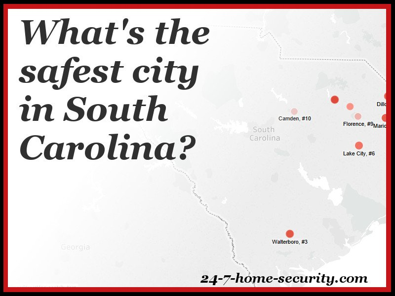safest cities in south carolina