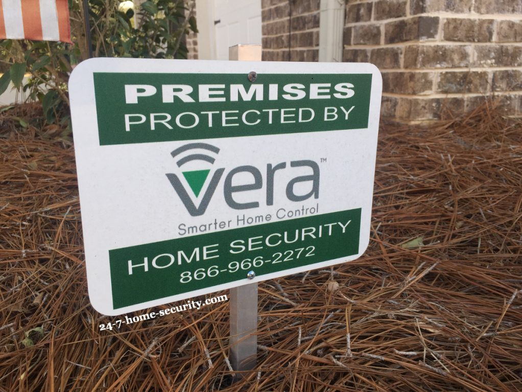Vera home automation review - Sign