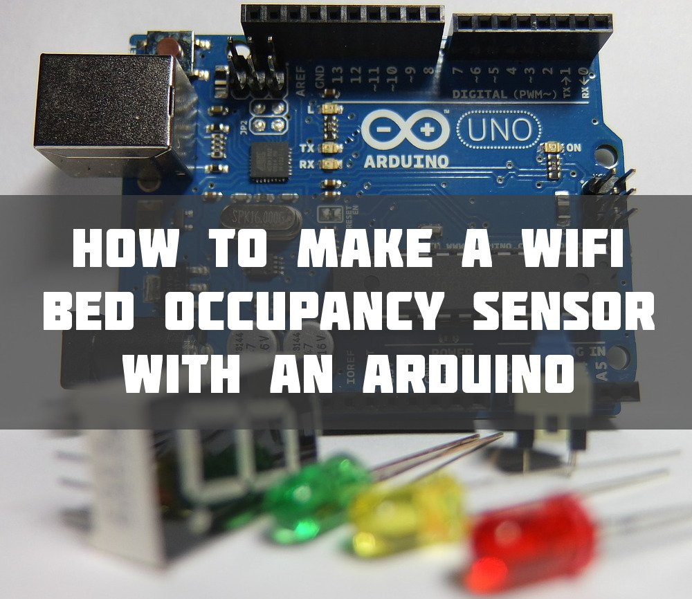 Arduino wifi bed sensor