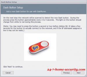 amazon dash button setup step 3
